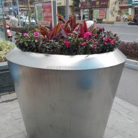 西安不锈钢花盆厂家_ 商场花箱_西安市政街道种植箱找西安志诚