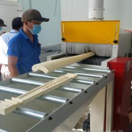 PU材质通过式自动喷砂机