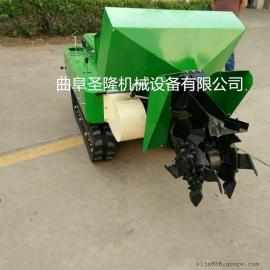 新型多功能田园管理机 柴油机式开沟施肥机