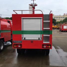 景区福田消防车 景区2吨消防洒水车 装水2吨的景区消防车