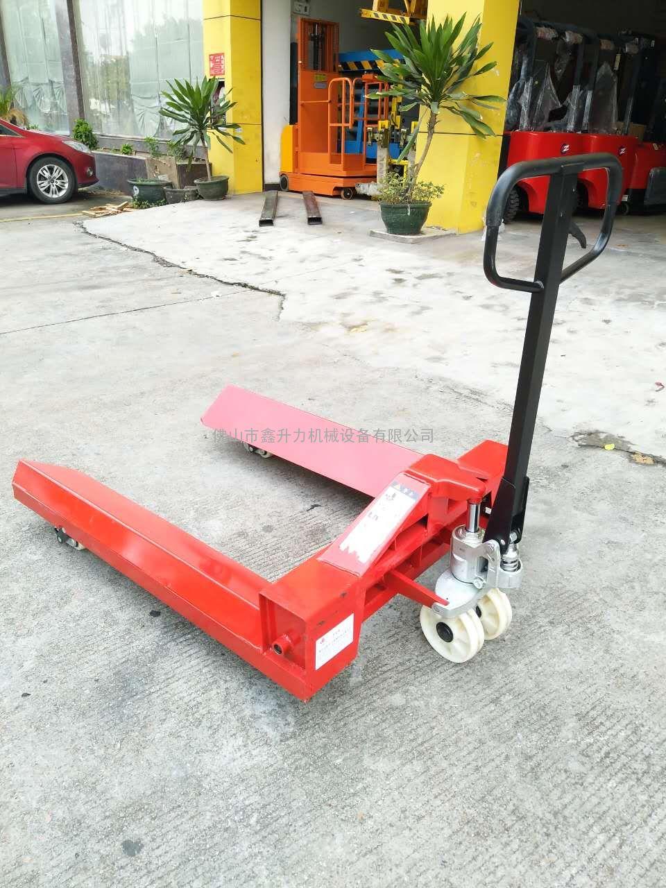 杭州纸厂搬运车-纸筒手拉车运输车