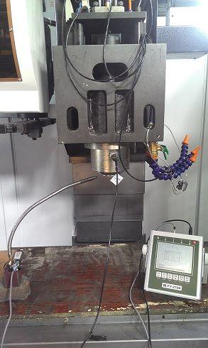 固定式(一对一)砂轮在线动平衡监测校正仪 PY2500