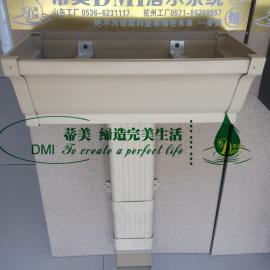 定制天沟 成都落水系统 杭州成品檐沟 86型雨水斗 落水管多少钱