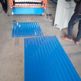 北京双层压瓦机长短 北京彩钢板瓦压瓦机厂家