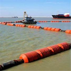 挖沙船塑料浮筒 高耐磨航道疏浚管道浮体