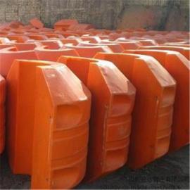 高强度水上抽沙浮筒 塑料托管浮子批发介绍