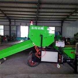 玉米秸秆青贮打捆包膜机专业厂商
