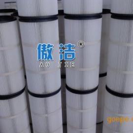 厂家直销 聚酯纤维粉尘覆膜除尘滤芯