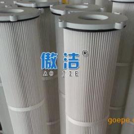厂家直销 覆膜聚酯纤维防静电除尘滤芯