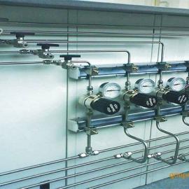 实验室集中供气系统墙体走气管线边中央台药品试剂通风柜 厂家