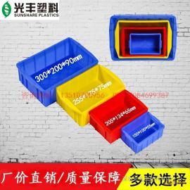 加厚周转箱300*200*80MM|零件箱|小胶箱-厂家直销品质保证