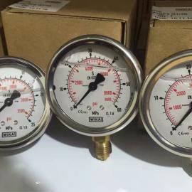 德国WIKA压力表213.53 原装进口耐震充油压力表
