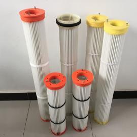 现货供应 水泥仓顶除尘器滤芯 PTFE覆膜滤筒 加工定制