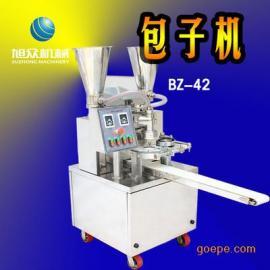 全自动双陷斗包子机 多功能包子机 做小笼包豆沙包肉菜包的机器