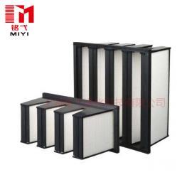 铭弋空气过滤器组合式V型塑胶框4V高效空气过滤器