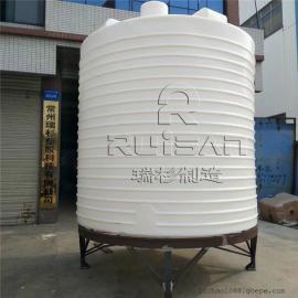常州 质保5年15吨一次成型耐酸碱塑料储罐 厂家直销