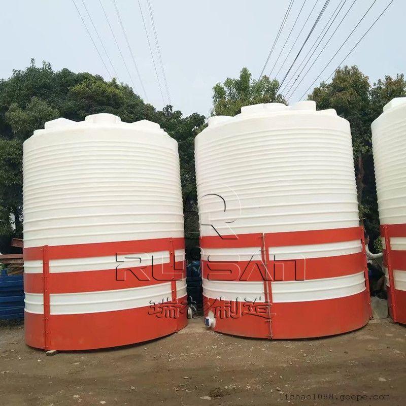 瑞杉塑胶 20吨塑料储罐 耐酸碱 可加厚 滚塑成型