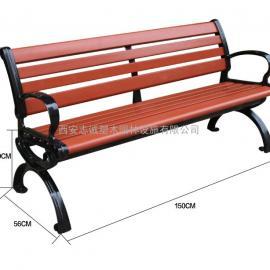 志诚塑木休闲椅生产厂家,小区公园景区广场专用