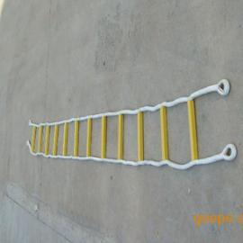 高空作业绝缘软梯 尼龙包芯软梯 钢丝绳软梯 防护软梯 冀航电力