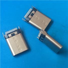 短�w3.1 USB公�^TYPE C�A板L=8.5/10.5���~叉�_ 固定�_ �F�a