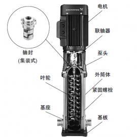 CR5 CRI5 CRN5系列泵 立式多级帮浦
