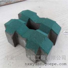 宁夏道砖厂/银川道砖厂/宁夏(银川)优质植草砖生产厂家