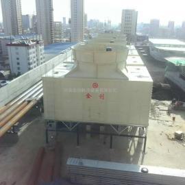 优质金创JCR系列1700T玻璃钢横流式方型冷却塔生产厂家
