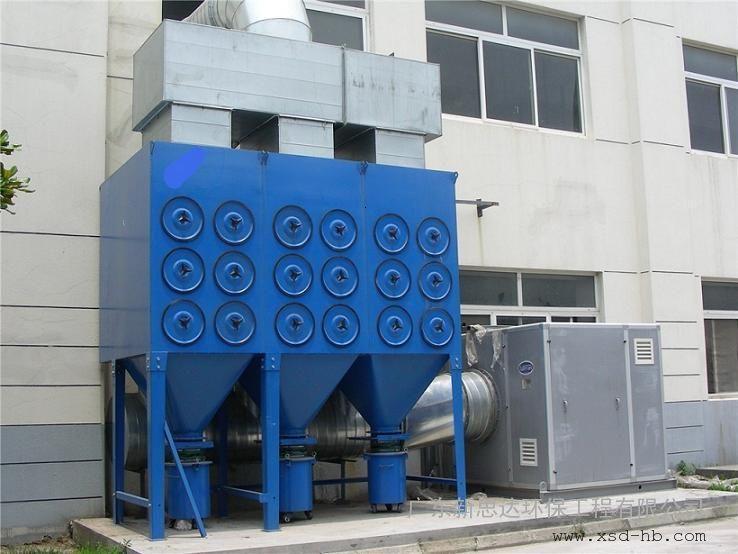 广东新思达脉冲滤筒除尘器