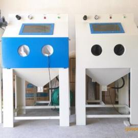 小型手动喷砂机9060箱式喷砂机