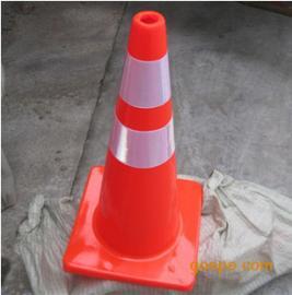 反光锥形路锥 橡胶路锥 耐老化 耐压 道路警示路锥 冀航电力