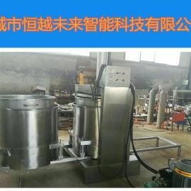 恒越未来HYWL-400L土豆液压压榨机,芹菜压榨机,果蔬压榨脱水机