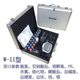污水质氨氮亚硝酸氮溶解氧余氯PH硫磷铜碱度硬度铁铬检测仪