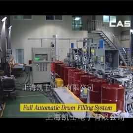300L灌装机, 200kg润滑油桶灌装生产线