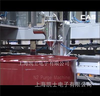 大规模生产的三头全自动灌装机流水线