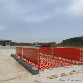 重庆拓打项目安装山东钢联建筑工地洗车机设备