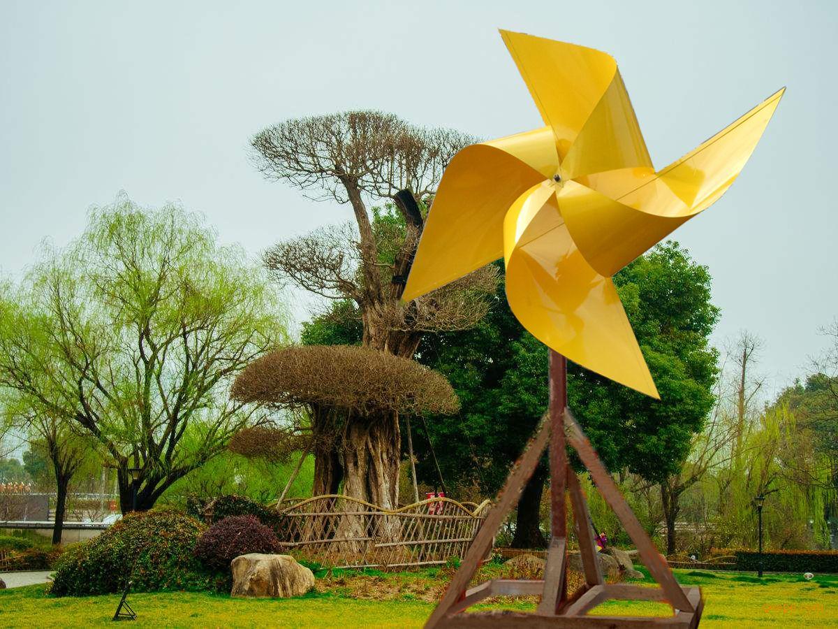 大型景观风车施工 景观风车设计制作