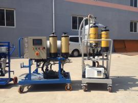聚结脱水滤油机LYC-J150液压油不锈钢聚结过滤机