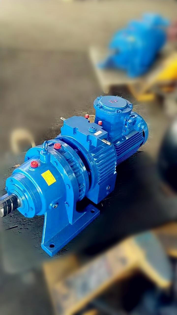 厂家低价供应防爆无极变速机MB75YB-7.5KW-XW6-17摆线减速机