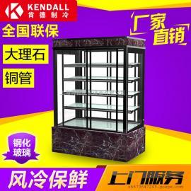 肯德 蛋糕柜冷藏柜面包展示柜 四层直角蛋糕保鲜柜厂家直销