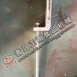 青岛正雨供应羊屠宰设备配件管轨挂羊滑轮W钩子