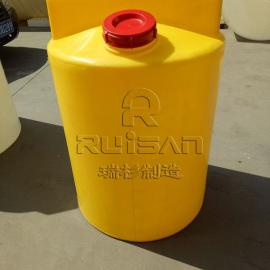 江苏 专业定制300L一次成型耐酸碱加药箱