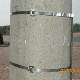 厂家直销大量优质不锈钢抱箍 电线杆喉箍卡箍价格