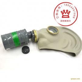 唐人氨用防毒面具4号罐氨冷库用TF1型P-K-3防毒面具