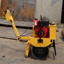 路畅LC-60手扶小单轮振动柴油压路机 回填土沥青都压实的压路机