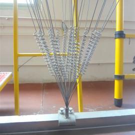 风力驱鸟器驱鸟刺 变电站果园专用防鸟设备铁丝驱鸟器