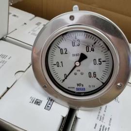 德国WIKA不锈钢压力表232.30 原装进口耐震充油压力表