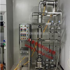 实验室不锈钢精馏装置,实验室不锈钢精馏塔