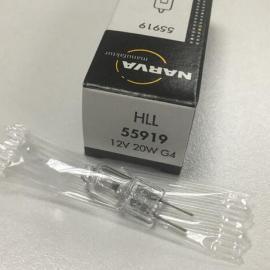德国NARVA利华卤素灯泡55919 HLL 12V20W显微镜灯泡 生化仪灯泡