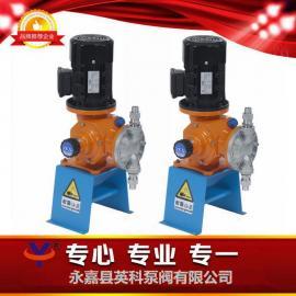 GB500/0.8途絮凝剂加药泵机械隔膜泵不锈钢计量泵