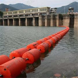 昌宁县围栏塑料浮体 河道浮渣拦截浮漂价格